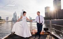 Свадьба на теплоходе Светоч Александра и Марии