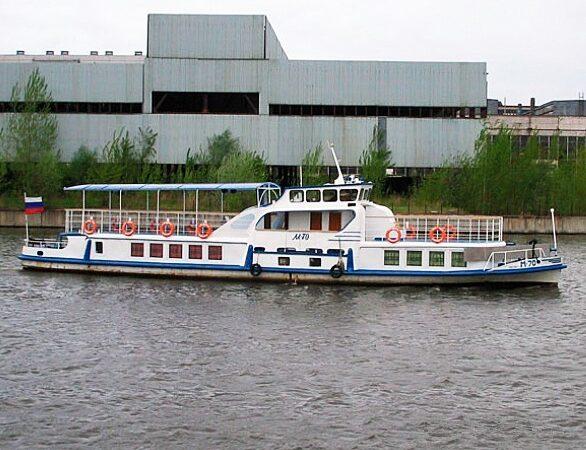 Теплоход Амстердам общий вид